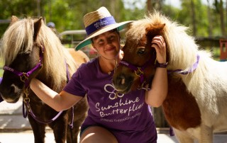 Sunshine Butterflies Therapy Ponies